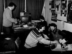 Polskie Radio Szczecin: Ryszard Mysiak, Marek Borowiec, Maria Gruszczyńska, Teodor Baranowski i Jarosław Dalecki