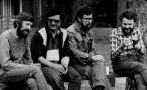 Marek Borowiec, Teodor Baranowski, Jacek Wiśniewski i Jarosław Dalecki 1989