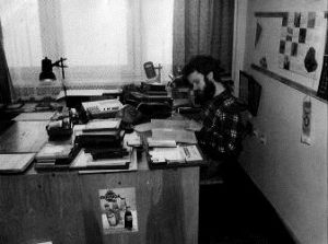 Polskie Radio Szczecin - redakcja dzienników ok. 1986, Jarosław Dalecki