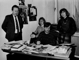 Ryszard Bogunowicz, Elżbieta Bitner, Marek Koszur, Anna Kolmer ok 1985