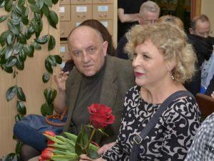 gość spotkania red. Wiesława Piećko z mężem