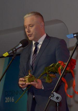Dariusz Baranik (TVP3 Szczecin) - Dziennikarz Roku 2016