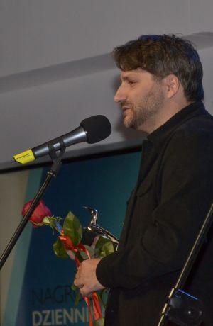 Rafał Podraza otrzymał Nagrodę Dziennikarzy
