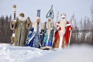 Polski Strażnik Mrozu, Jakucka Zima, Chys-Chan z Jakucji, Dziadek Mróz spod Moskwy