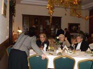 Spotkanie noworoczne dziennikarzy 05.02.2016, na zdjęciu: Małgorzata Furga, Iwona Poczopko, Dorota Zamolska, Leszek Szopa