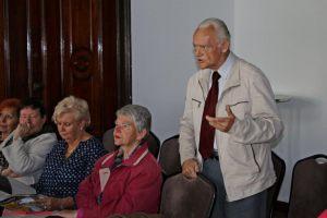 uczestnicy spotkania z Panią Beatą