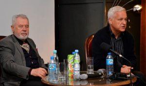 od lewej: Józef Gawłowicz,  Michał Paziewski