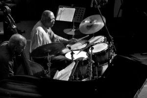 The Cookers - perkusja i kontrabas