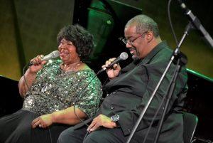 Deborah Brown i Kevin Mahogany