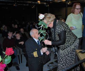 Kapitan Zbigniew Sak i Krystyna Pohl
