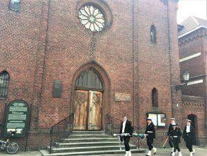 Kościółek nad Parsętą p.w. Niepokalanego Poczęcia NMP w Kołobrzegu