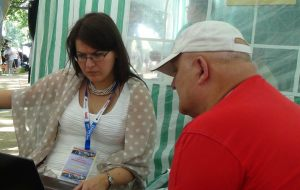 Andrzej Wiśniewski i Marta Kościucha - dziennikarze portalu zachodniopomorskie-info