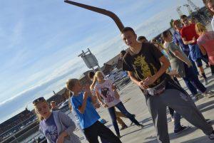 zajęcia taneczne na Wyspie Grodzkiej